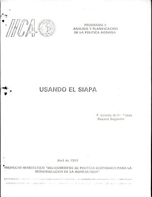 Usando el Siapa PDF