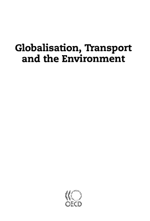 Globalisation  Transport and the Environment PDF