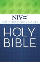 NIV  Holy Bible  eBook PDF