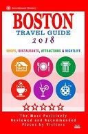 Boston Travel Guide 2018