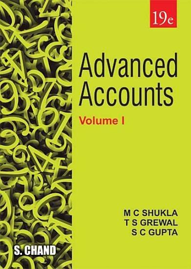 Advanced Accounts Volume   I  19th Edition PDF