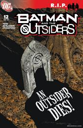 Batman and the Outsiders (2007-) #12