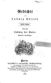 Gedichte von Ludwig Uhland