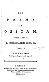 The Poems Of Ossian: In Two Volumes, Volume 2