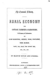 Rural economy for cottage farmers, by Martin Doyle
