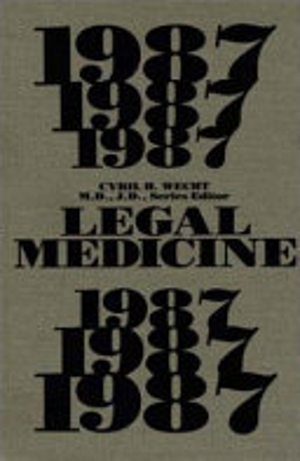 Legal Medicine 1987