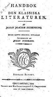 Handbok i den klassiska literaturen: Volym 2