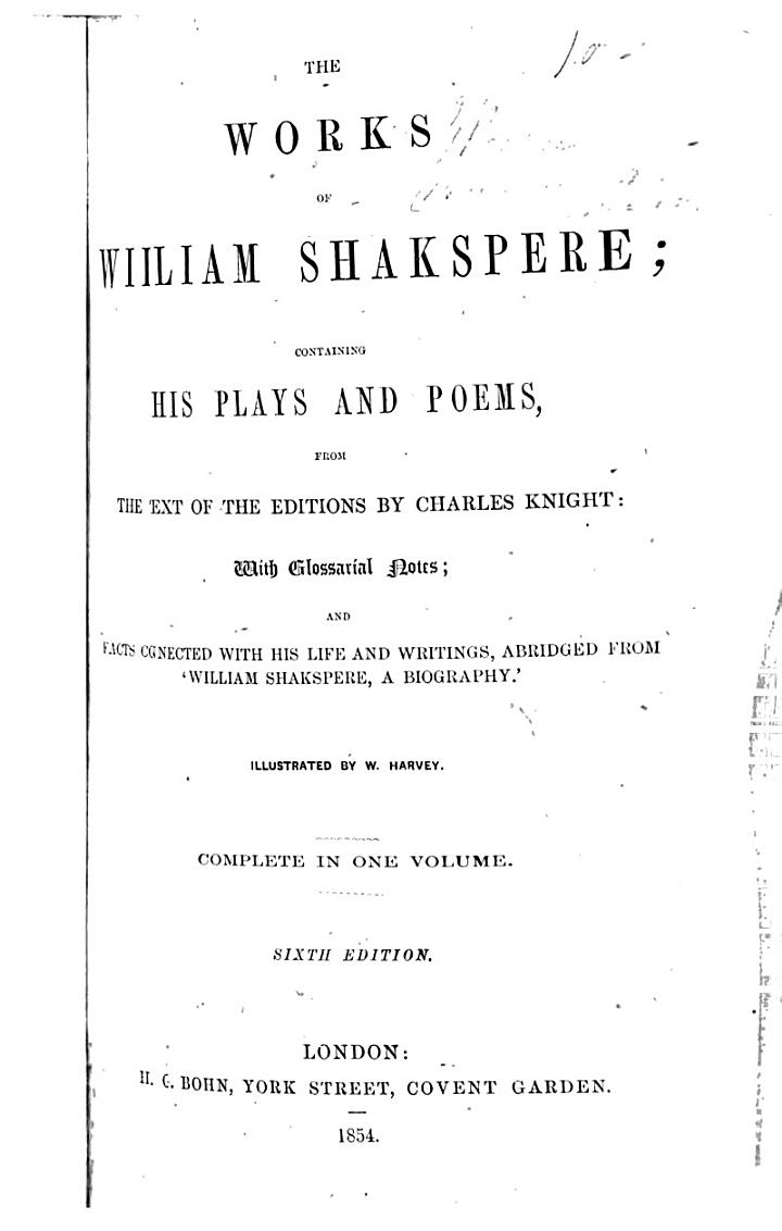 The Works of William Shakespere