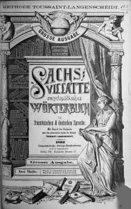 Sachs Villatte encyclop  disches W  rterbuch der franz  sischen   deutschen Sprache PDF
