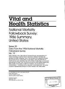 National Mortality Followback Survey PDF