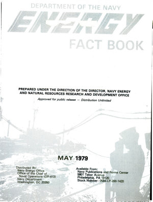 Department of Navy Energy Fact Book