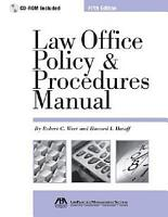 Law Office Policy   Procedures Manual PDF