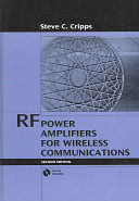 RF Power Amplifiers for Wireless Communications PDF