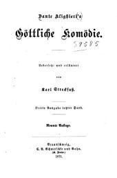 Dante Alighieri's Göttliche Komödie: Band 1