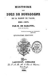 Histoire des ducs de Bourgogne, de la maison de Valois, 1364-1477: Volume6