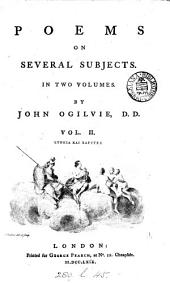 Poems on several subjects: In two volumes, Volume 2