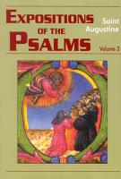 Expositions of the Psalms PDF