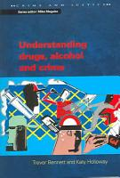 Understanding Drugs  Alcohol And Crime PDF