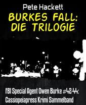 Burkes Fall: Die Trilogie: FBI Special Agent Owen Burke #42-44: Cassiopeiapress Krimi Sammelband