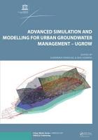 Advanced Simulation and Modeling for Urban Groundwater Management   UGROW PDF