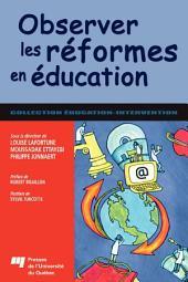 Observer les réformes en éducation