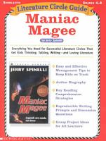 Literature Circle Guides Maniac Magee PDF