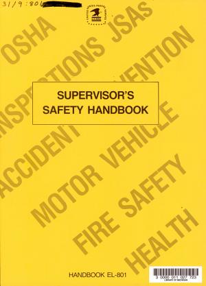 Supervisor's Safety Handbook