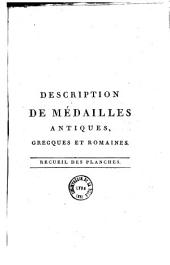 Description de médailles antiques, grecques et romaines: Volume 5