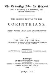 The Second Epistle to the Corinthians with Notes, Map, and Introduction