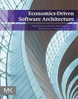 Economics Driven Software Architecture PDF