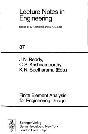 Finite Element Analysis for Engineering Design