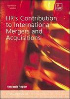 HR s Contribution to International Mergers and Acquisitions PDF