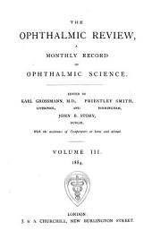 Ophthalmic Review: Volume 3