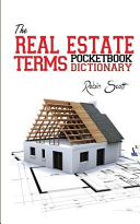 The Real Estate Terms Pocketbook Dictionary Book