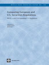 Comparing European and U.S. Securities Regulations: MiFID versus Corresponding U.S. Regulations