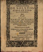 De solutionibus et liberationibus