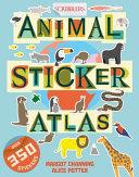 Scribblers Animal Sticker Atlas