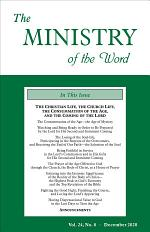 The Ministry of the Word, Vol. 24, No. 08
