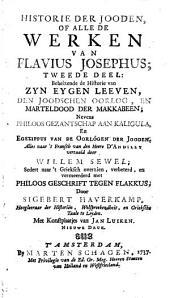 Historie der Jooden of alle de werken... nevens Philoos gezantschap aan Kaligula en Egesippus verhaal van de oorlogen der Jooden: Volume 5