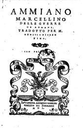 Delle guerre de Romani ; tradotto per Remigio Fiorentino