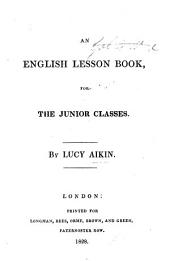 An English Lesson Book for the junior classes