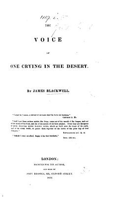 The Voice of One Crying in the Desert PDF