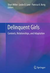 Delinquent Girls: Contexts, Relationships, and Adaptation