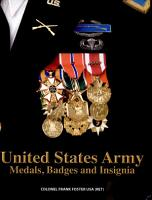 United States Army Medal  Badges and Insignias  PDF