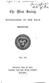Manx Miscellanies: Volume 1