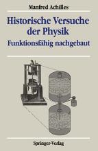 Historische Versuche der Physik PDF