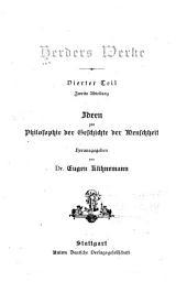 Herder's werke: Band 4,Teil 2