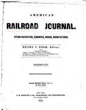 American Railroad Journal: Volume 22