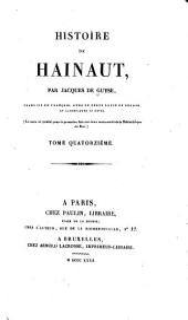 Histoire de Hainaut: Volume14