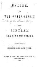 Undine and Sintram PDF